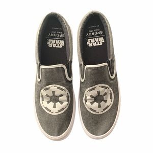Sperry Star Wars Cutter slip on shoes size 13